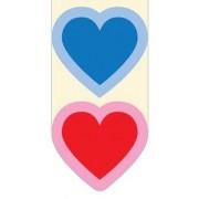 magnetische boekenlegger - 2 harten