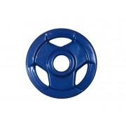 Anilha Sport Luxo Revestida - Azul - 5 Kg