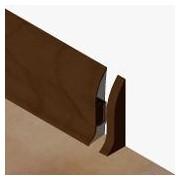 PBD605.253-S4 - Set 4 bucati piese inchidere dreapta culoare stejar maroniu pentru plinta PBC605