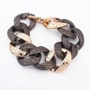 BAGISIMO Plastikový řetěz na ruku v černé barvě