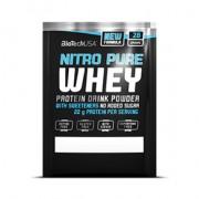 BioTech USA Nitro Pure Whey karamellás-cappuccino por - 10x28g