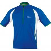 GORE RUNNING WEAR AIR Zip Shirt Men brilliant blue/white 2015 Running