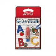 Apa Magica Carnet De Colorat Litere Melissa And Doug