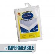 > Coprimaterasso impermeabile sanitario 100% cotone85 x 190 cm (singolo)