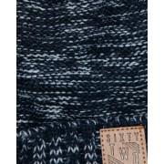 Jongens melange knit pompon muts