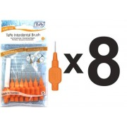 TePe mellanrumsborstar orange XXX-fine (8 borstar)