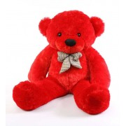 Red 3.5 Feet Bow Teddy Bear