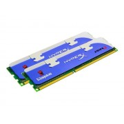 Kingston HyperX - DDR3 - 4 Go : 2 x 2 Go - DIMM 240 broches - 1600 MHz / PC3-12800 - CL8 - 1.65 V - mémoire sans tampon - non ECC