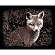"Copperfoil Kit 8 ""X 10""-Fox Cub"