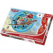 Trefl - Puzzle Aviones Disney Aviones de 15 piezas (39.8x26.6 cm) (14603) (importado)
