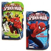 Marvel Ultimate Spider Man Board Books, Team Up! And Go Spidey!, 2 Book Set
