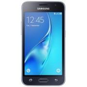 "Telefon Mobil Samsung Galaxy J1 (2016), Procesor Quad-Core 1.3GHz, Super AMOLED Capacitive touchscreen 4.5"", 1GB RAM, 8GB Flash, 5MP, 4G, Wi-Fi, Dual Sim, Android (Negru) + Cartela SIM Orange PrePay, 6 euro credit, 4 GB internet 4G, 2,000 minute nationale"