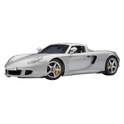 Porsche Carrera GT (Silver/Black) (Diecast Model)