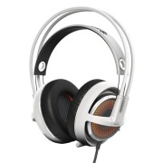 SteelSeries Siberia 350 White DTS 7.1 Геймърски слушалки с микрофон