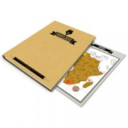 Travelogue Travel Journal Kit w/ Scratch Maps
