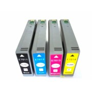 4xTintenpatronen für Epson Workforce Pro WP-4535 DWF ( WP-4535 WP 4535 DWF ) kompatibel