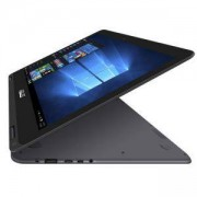 Лаптоп ASUS UX360CA-C4011T, 13.3 инча FHD, Intel Core M3-6Y30, 4GB, 128GB SSD, Intel HD Graphics 515, Сребрист, 90NB0BA2-M01230