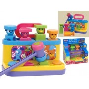 Pop Up Friends with Hammer and Shape Sorter by Fun Time