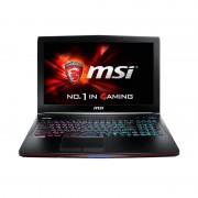 Laptop MSI GE62 6QF Apache Pro 15.6 inch Full HD Intel Core i7-6700HQ 8GB DDR4 1TB HDD nvidia GeForce GTX 970M 3GB Black