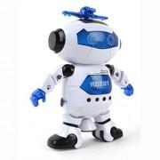 Usstore 1PC Kid Baby Electronic Walking Dancing Smart Space Robot Astronaut Kids Music Light Kids Toy Gift