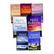 Nora Roberts Collection 7 Books Set - Mills & Boon Truly Madly Manhattan Treasures Going Home Stars Summer Pleasures Engaging the Enemy and Dre)