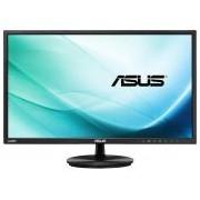 Asus monitor WLED VN247HA 23.6\ wide, Full HD, 5ms, 2xHDMI, S-Sub, speakers, fekete