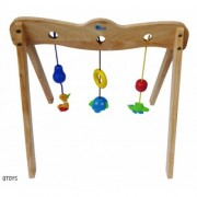Qtoys Wooden Baby Gym