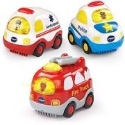 VTech Go! Go! Smart Wheels - Emergency Vehicles 3-pack