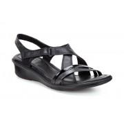 Sandale casual dama Ecco Felicia (Negre)