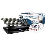 KGUARD EL1622-2CKT005 8 CH DVR 8x800TVL WDR Cameras