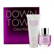 Downtown Coffret: Eau De Parfum Spray 90ml/3oz + Body Lotion 200ml/6.7oz 2pcs Downtown Casetă: Apă De Parfum Spray 90ml/3oz + Loțiune de Corp 200ml/6.7oz