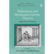Shakespeare and Renaissance Literary Theories by Professor Michele Marrapodi