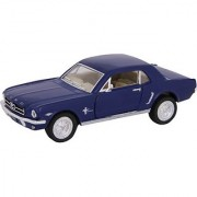 Baby Steps Kinsmart Die-Cast Metal 1964 1/2 Ford Mustang (Blue)