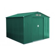 G21 GAH 580 - 251 x 231 cm-es kerti fém ház, zöld