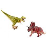 Schleich T-Rex and Pentaceratops Set