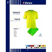 Zeus - Completo Calcio Kit Sticker
