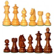 """4"""" King Height - Collector Edition Wooden Chess Pieces Staunton Figure Figurine by Stonkraft"""