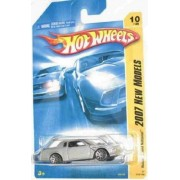 2007 New Models -#10 Buick Grand National Silver 10-Spoke Wheels #2007-10 Mattel Hot Wheels 1:64 Scale Collectible Die Cast Car by Hot Wheels