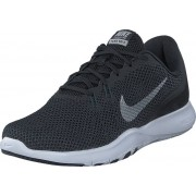 Nike W Flex Trainer 7 Black/Mtlc Silver-Anthracite, Skor, Sneakers & Sportskor, Sneakers, Svart, Grå, Dam, 36