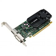 PNY NVIDIA QUADRO K620 Carte Graphique Professionnelle 2 Go GDDR3 PCI-Express Low Profile 4K DP + DVI/VGA (VCQK620-PB)