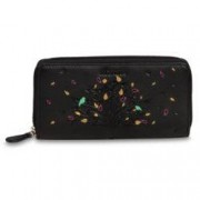 Chiemsee Tree Wallet Zip Around Schwarz
