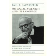 On Social Research and Its Language by Paul F. Lazarsfeld