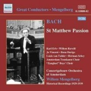 J.S. Bach - St. Matthew Passion 1939 (0636943188026) (3 CD)