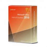 Microsoft Office 2010 HOME and BUSINESS Product Key Card 1 User / 2 Aktivierungen
