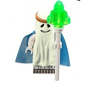The LEGO Movie - Glow-in-the-Dark Ghost Vitruvius Minifigure with staff from set 70818 by LEGO