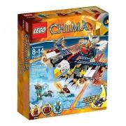 LEGO Legends of Chima - El águila flamígera de Eris, juego de construcción (70142)
