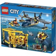 LEGO City Base de Operaciones de Exploración Submarina - juegos de construcción (Niño, Multicolor)
