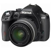 Pentax K-50 kit (DAL 18-55mm WR) (negru)