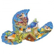 Bluebird Country a 1000-Piece Jigsaw Puzzle by Sunsout Inc.