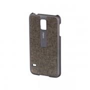 Maska za Samsung S5 FABRIC HAMA bez/zlatna 124682